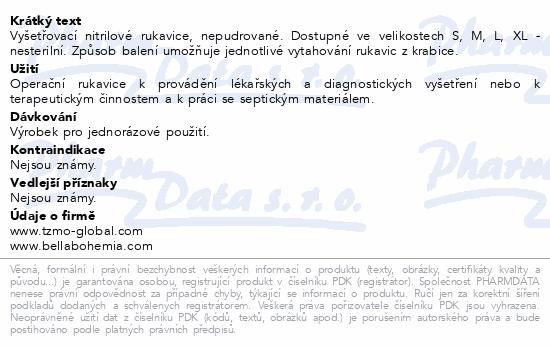 Ambulex Nitryl rukavice nitril.nepudrované L 100ks - Tiplékárna deaab8a520