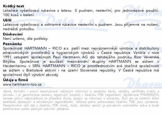 Rukavice vyšetřovací SUPERLIFE Latex pudr S 100ks - Tiplékárna e36ae6ba85