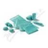 Cutimed Sorbact 7x9cm 5ks antimikrob. krytí přířez