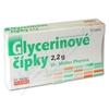 Glycerinové čípky 2.2g 12 čípků Dr.Müller