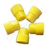 Uzávěr žlutý 16mm balení 100ks