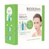 BIODERMA Sebium H2O 500ml+Gel mousant200ml+tampony