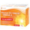 Vitamín D3 1000 IU + Omega-3 cps. 60