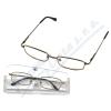 Brýle čtecí American Way +2. 50 šedé-hnědé v etui