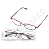 Brýle čtecí American Way +3. 00 červené v etui
