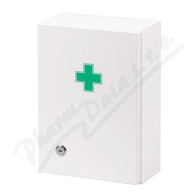 Lékárnička - bílá dřevěná 330x230x120mm prázdná