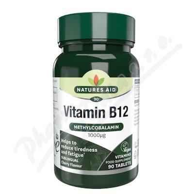 Vitamín B12 (1000mcg) tbl.90 - sublingvální