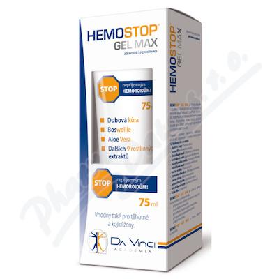 HemoStop Gel Max Da Vinci Academia 75ml