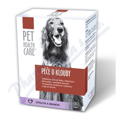 PET HEALTH CARE Péče o klouby pro psy tbl.90