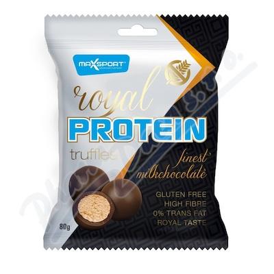 ROYAL PROTEIN TRUFFLES výběrová čokoláda 80g