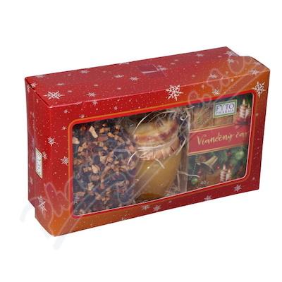 Dárk.kazeta Vánoční čaj syp.+ porc.+ med Fytoph.