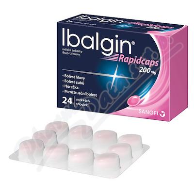 Ibalgin Rapidcaps 200mg cps.mol.24