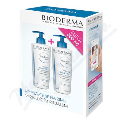 BIODERMA Atoderm Krém 500ml 1+1 výhodná cena