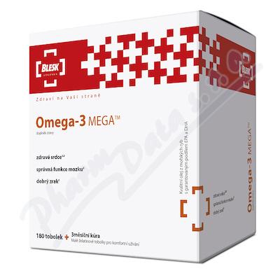 BLESK Omega-3 MEGA tob.180