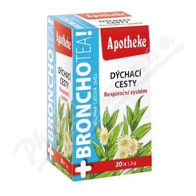 Apotheke BronchoTea Dýchací cesty čaj 20x1.5g