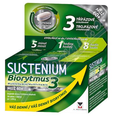 Sustenium Biorytmus 3 multivitamin MUŽ 60+ tbl.30
