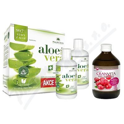 AloeVeraLife aloe 99.7% 1+1 1000ml+Cranvita 500ml