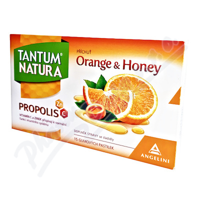 Tantum Natura Orange&Honey+Zn+vit.C past.15