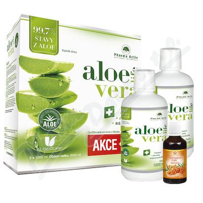 AloeVeraLife 1000ml+100% Rakytník.olej 50ml 1+1