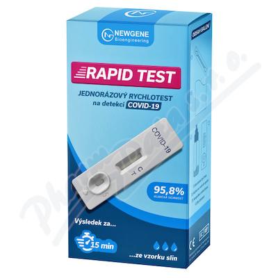 antigenní test 2019-nCoV ze slin Rapid Covid-19