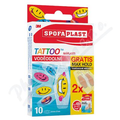 3M Spofaplast 115P Tattoo Voděod.nápl.10ks+2 ZDAR.