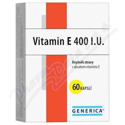 Vitamin E 400 I.U. cps.60 Generica