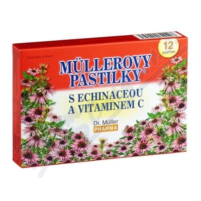 Müllerovy pastilky s echinaceou 12ks