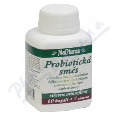 MedPharma Lactobacillus acidophilus+2 kmeny cps.67