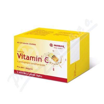 Farmax Vitamin C s postupným uvolňováním tob.60